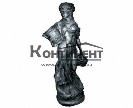 1458cc394 Скульптура садовая бетонная «Девушка с корзинами» - Континент - абсолютно все  для строительства и благоустройства | Официальный интернет-магазин